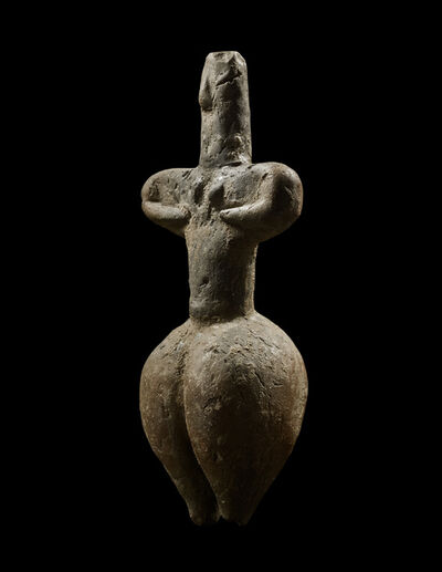 """Unknown Greek, 'ANCIENT THESSALIAN """"IDOL""""', ca. 6th millennium B.C."""