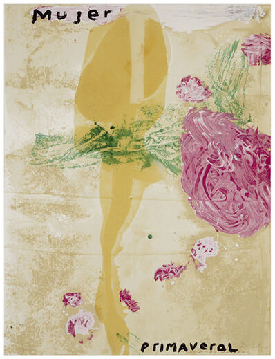 Julian Schnabel, 'Sexual Spring-Like Winter - Mujer Primaveral', 1995