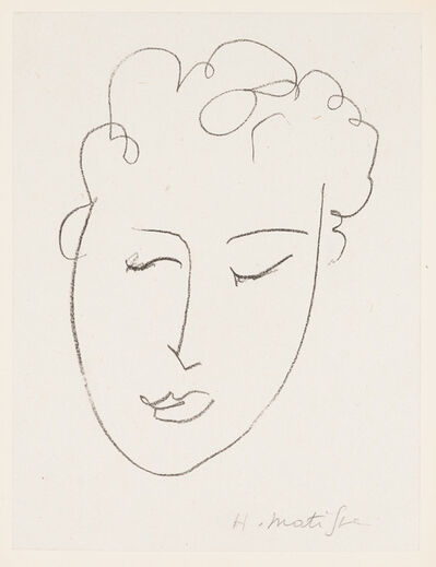 Henri Matisse, 'Tete de Femme', 1948