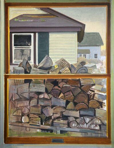 Richard Kirk Mills, 'Winter Firewood', 2019