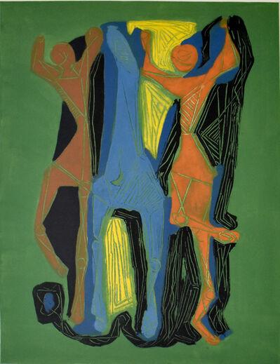 Marino Marini, 'Composition II, from: Marino Marini from Goethe', 1979