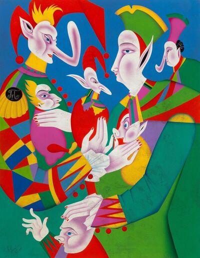 Mihail Chemiakin, 'Venetian Carnival V from the series Venetian Carnivals'