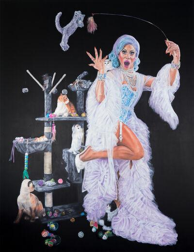 Lorena Lepori, 'The Crazy Cat Lady', 2021