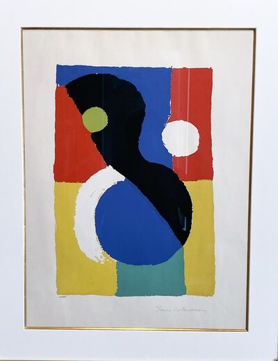 Sonia Delaunay, 'Composition', 1953