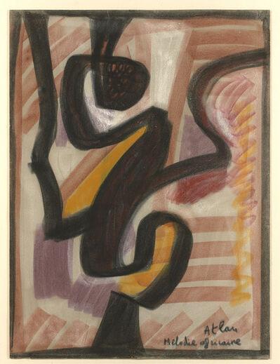 Jean-Michel Atlan, 'Mélodie Africaine', 1957