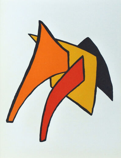 Alexander Calder, 'Derrière le Miroir 141 B', 1963