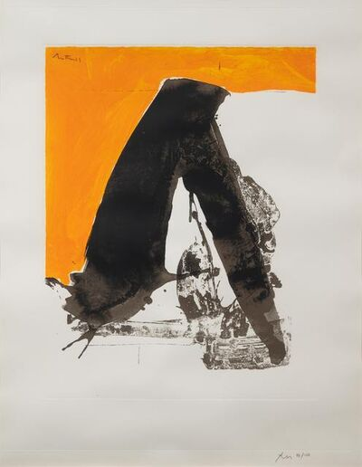 Robert Motherwell, 'Untitled (from the Basque Suite)', 1971