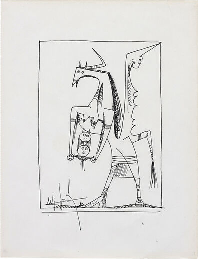 Wifredo Lam, 'Untitled', ca. 1950