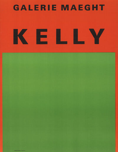 Ellsworth Kelly, 'Orange Et Vert', 1959