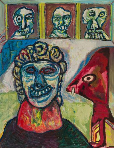 Lucebert, 'DeWeduwe / The Widow', 1993