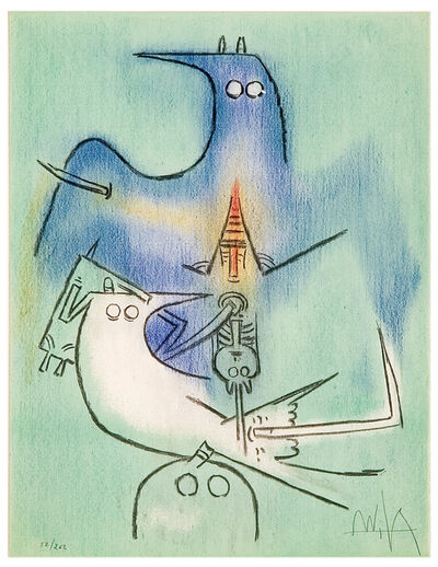 Wifredo Lam, 'Pleni Luna / Full Moon', 1974/1975