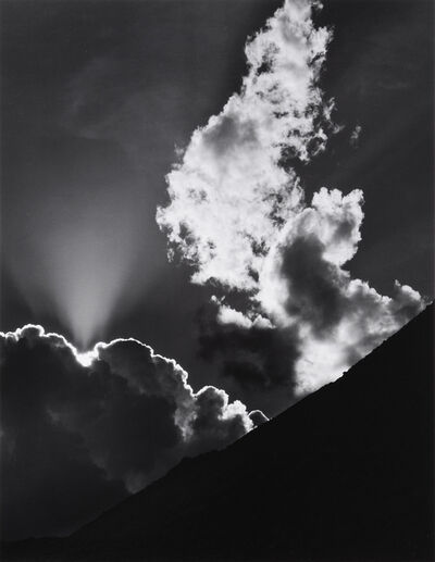 Ansel Adams, 'Cloud, Sierra Nevada', 1936