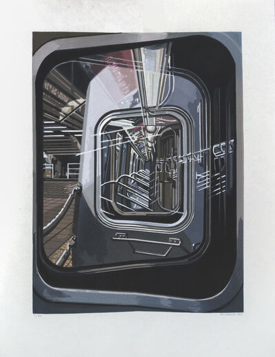 Richard Estes, 'The L Train', 2017
