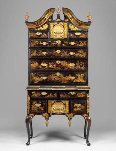Unknown American, 'High chest of drawers', 1730–1760