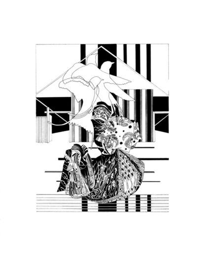 Chourouk Hriech, 'Illusion of you #4', 2020