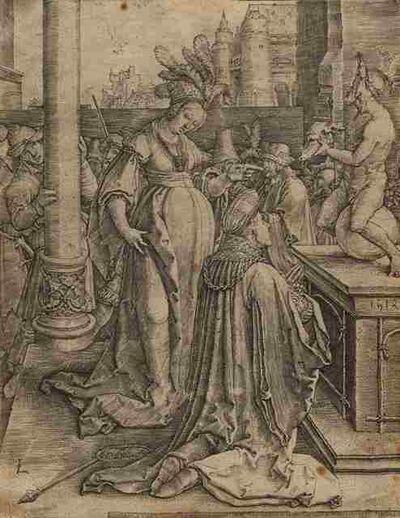 Lucas van Leyden, 'Solomon's Idolatry', 1514