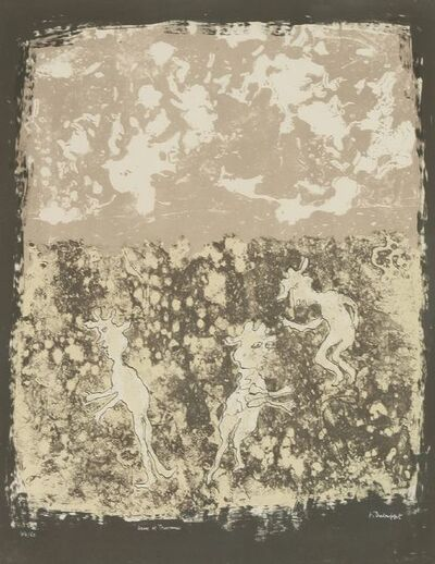 Jean Dubuffet, 'Jeux Et Travaux (Webel 385)', 1953