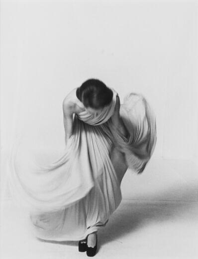 Louis Faurer, 'Bowing for Collections, Vogue Publication', 1972