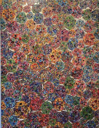 Tetsutaro Kamatani, 'PROLIFERATION- FLOWER SKULL', 2020