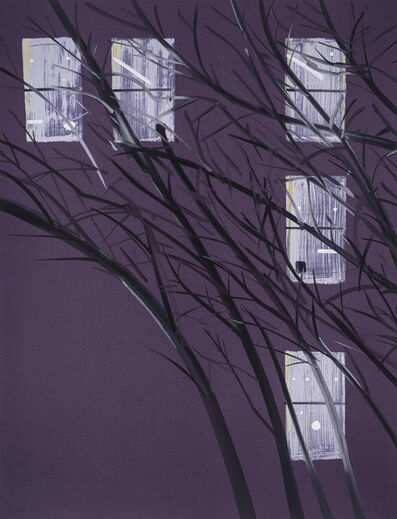 Alex Katz, 'Purple Wind', 2017
