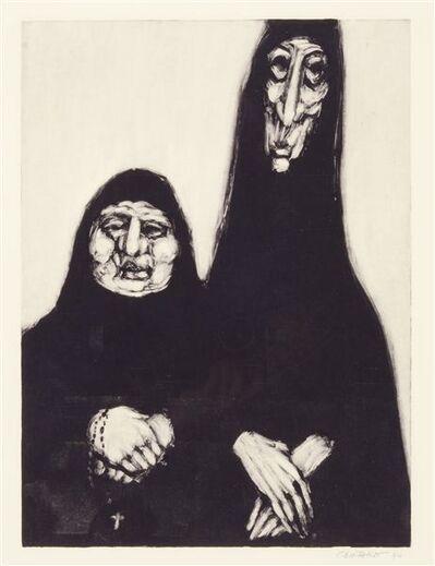Pat Oliphant, 'The Penitent Sisters', 1994