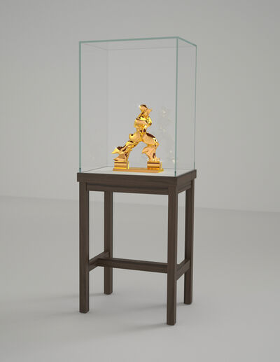 Barry X Ball, 'Perfect Forms (24K Gold Edition)', 2010-2014