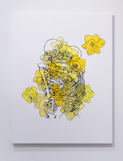 Mieke Marple, 'Eternal (Kissing/Daffodils)', 2019
