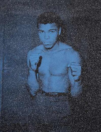 "Russell Young, 'Ali ""Smoketown Angel Blue""', 2016"