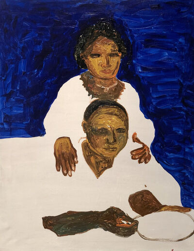 Gideon Appah, 'Portrait of an Older Couple', 2019