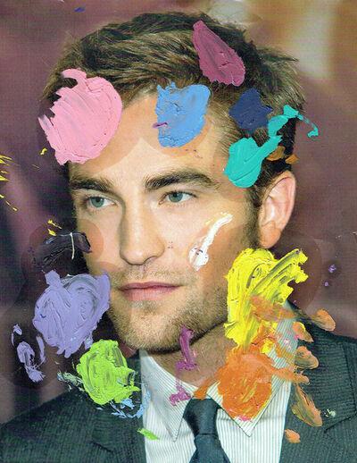 Michael Pybus, 'Painting Palette (Robert Pattinson)', 2015