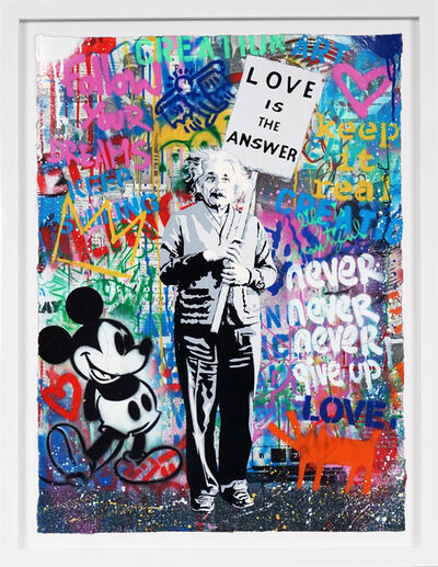 Mr. Brainwash, ''Love Is The Answer' (Unique)', 2020