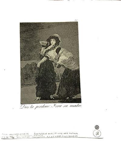 Francisco de Goya, 'Dios la perdone -Y era su madre', 1951