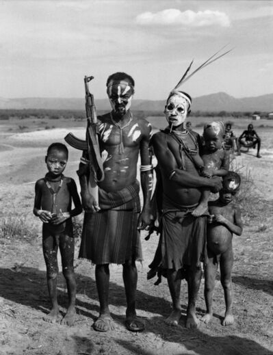 Don McCullin, 'African Family with Gun, Karo Tribe, Ethiopia', ca. 2003