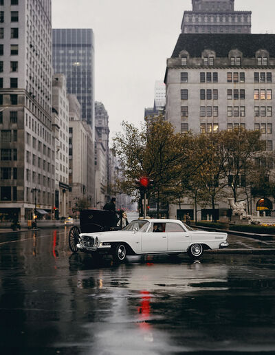 William Helburn, 'Chrysler New Yorker, 5th Avenue, NY', 1962