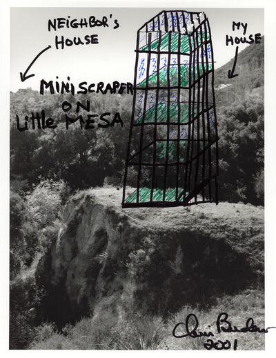 Chris Burden, 'Mini Scraper on Little Mesa', 2003