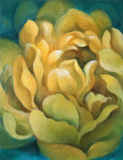 Lucy Y F Chen, 'Yellow Blossom'