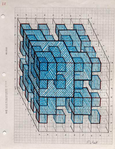 Clark Richert, 'Pascal Cube 3', 1992-94