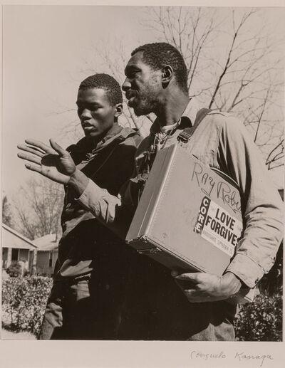 Consuelo Kanaga, 'Peace and Freedom Walkers, Albany Ga.', 1963