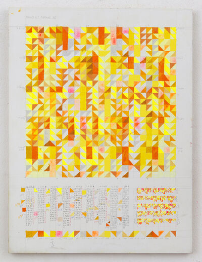 Leslie Roberts, 'RULES (I BEFORE E)', 2017