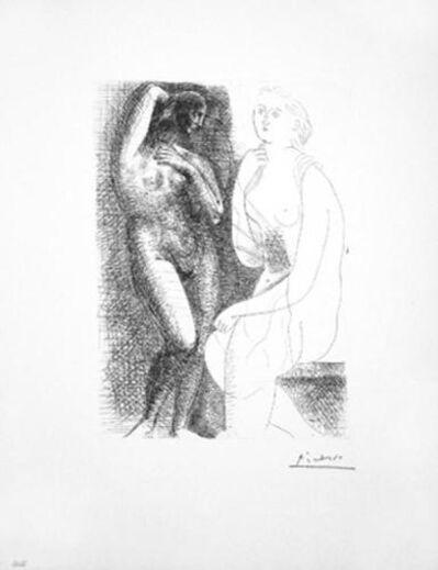 Pablo Picasso, 'Femme Nue Devant Une Statue', 1931-Suite Vollard