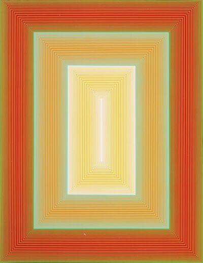 Richard Anuszkiewicz, 'Inward Eye #8', 1970