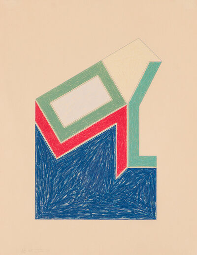 Frank Stella, 'Moultonville, from Eccentric Polygons (A.101)', 1974