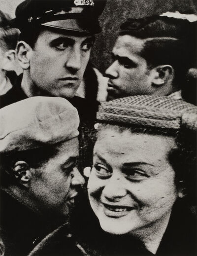 William Klein, 'Four Heads', 1955
