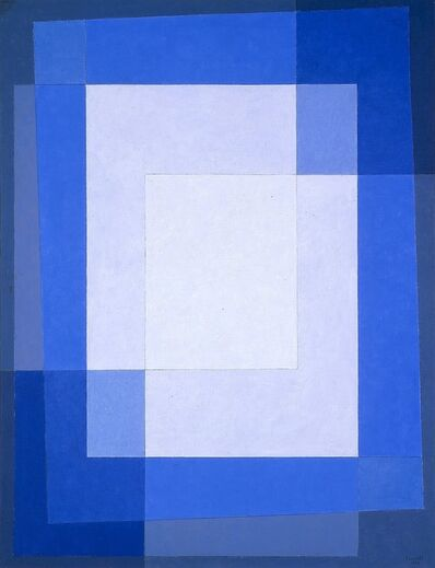Arcangelo Ianelli, 'Superposition of Squares', 1974