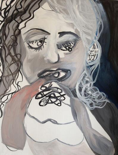 Maria Zerres, 'Grying Girl', 1991