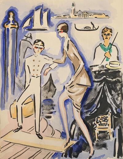 Kees van Dongen, 'The Arrival', 1925