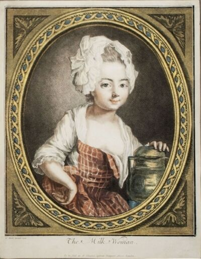 Louis-Marin Bonnet, 'The Milk Woman', 1774