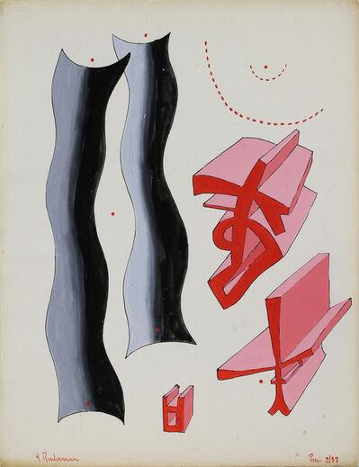Charles Biederman, 'Untitled, Paris, February 1937', 1937