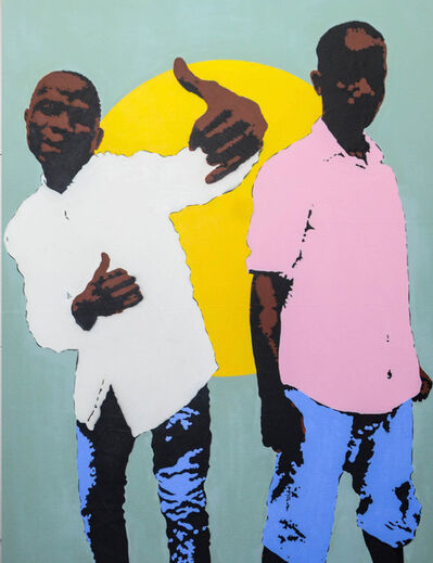 RICARDO KAPUKA, 'LOVE FOR ANGOLA', 2019