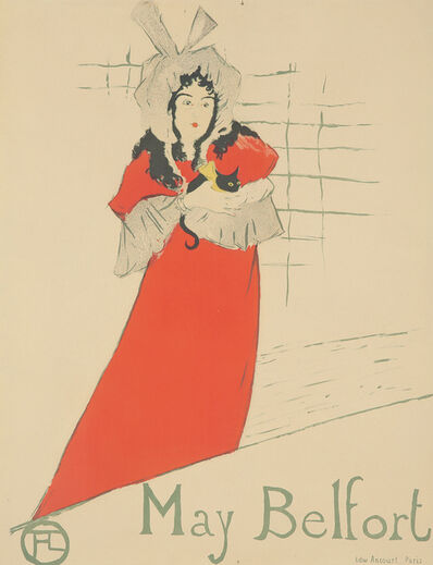 Henri de Toulouse-Lautrec, 'May Belfort.', 1895